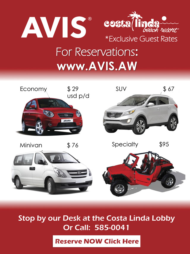Best Prices For Car Rentals In Aruba